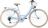 Ks Cycling Fiets Damesfiets Stadsfiets 6-versnellingen Toscane 28 inch lichtblauw - 48 cm