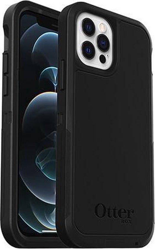 Otterbox Defender XT met MagSafe geschikt voor Apple iPhone 12 (pro) - Zwart