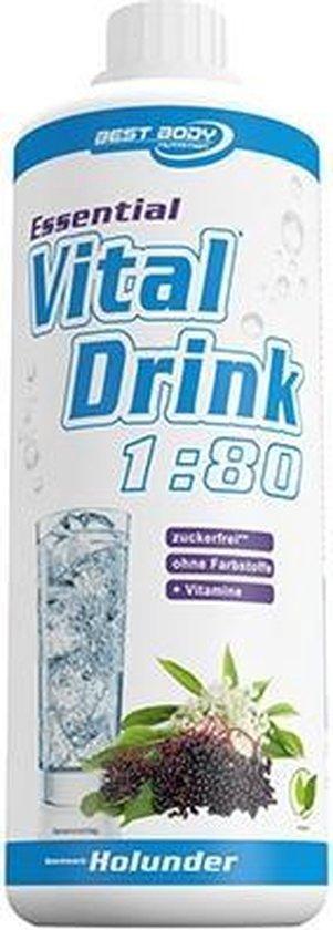 Best Body Nutrition - Essential Vital Drink (1000ml) Pear Melissa