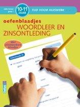 Tijd voor huiswerk  -   Woordleer en zinsontleding (10-11 jaar)