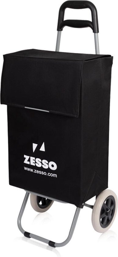 Zesso Boodschappenwagen Zesso Trolley Zwart