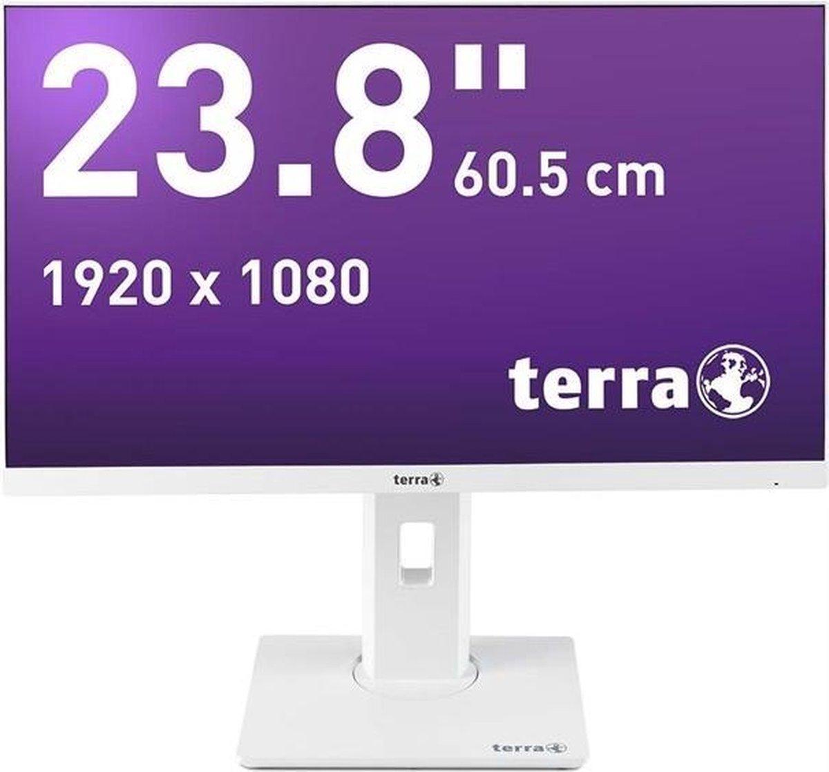 Wortmann AG TERRA 2463W 60,5 cm (23.8) 1920 x 1080 Pixels Full HD LED Wit