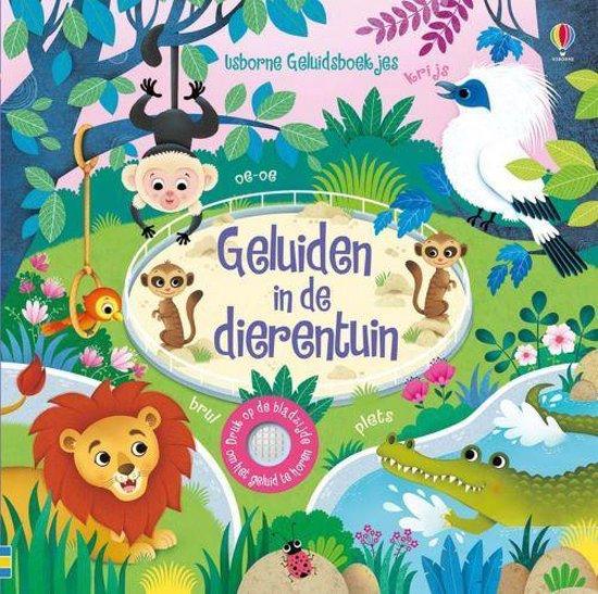 Boek cover Geluiden in de dierentuin van Sam Taplin (Hardcover)