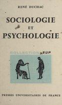 Sociologie et psychologie