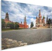 Uitzicht vanaf het Rode Plein in Moskou Rusland Plexiglas 60x40 cm - Foto print op Glas (Plexiglas wanddecoratie)