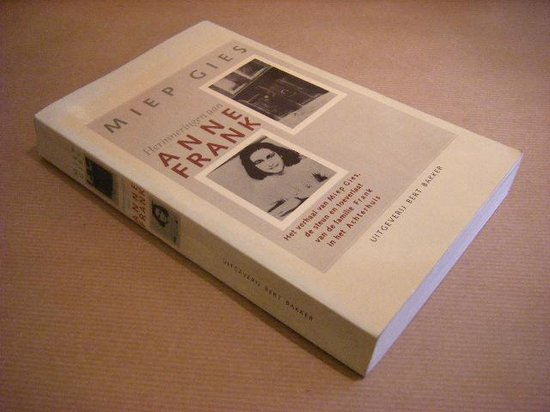 HERINNERINGEN AAN ANNE FRANK - Miep Gies |