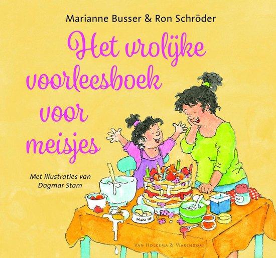 Boek cover Het vrolijke voorleesboek voor meisjes van Marianne Busser (Hardcover)
