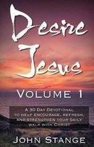 Boek cover Desire Jesus, Volume 1 van John Stange