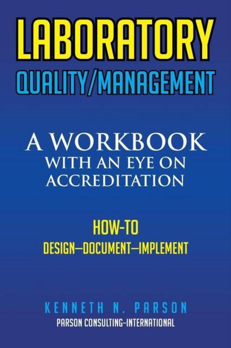 Laboratory Quality/Management