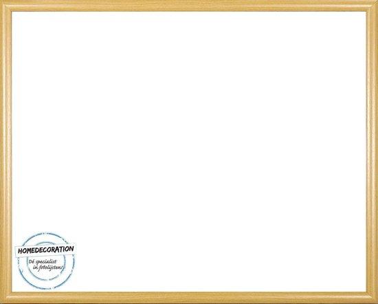 Homedecoration Biggy – Fotolijst – Fotomaat – 72 x 100 cm – Kunststof – Licht beuken