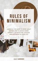 Rules Of Minimalism