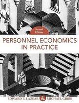 Boek cover Personnel Economics In Practice van Edward P. Lazear (Hardcover)