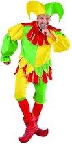 Clown & Nar Kostuum | Knotsgekke Nar Engelse Hof | Man | Large | Carnaval kostuum | Verkleedkleding