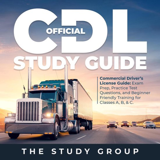 Boek cover Official CDL Study Guide van The Study Group (Onbekend)