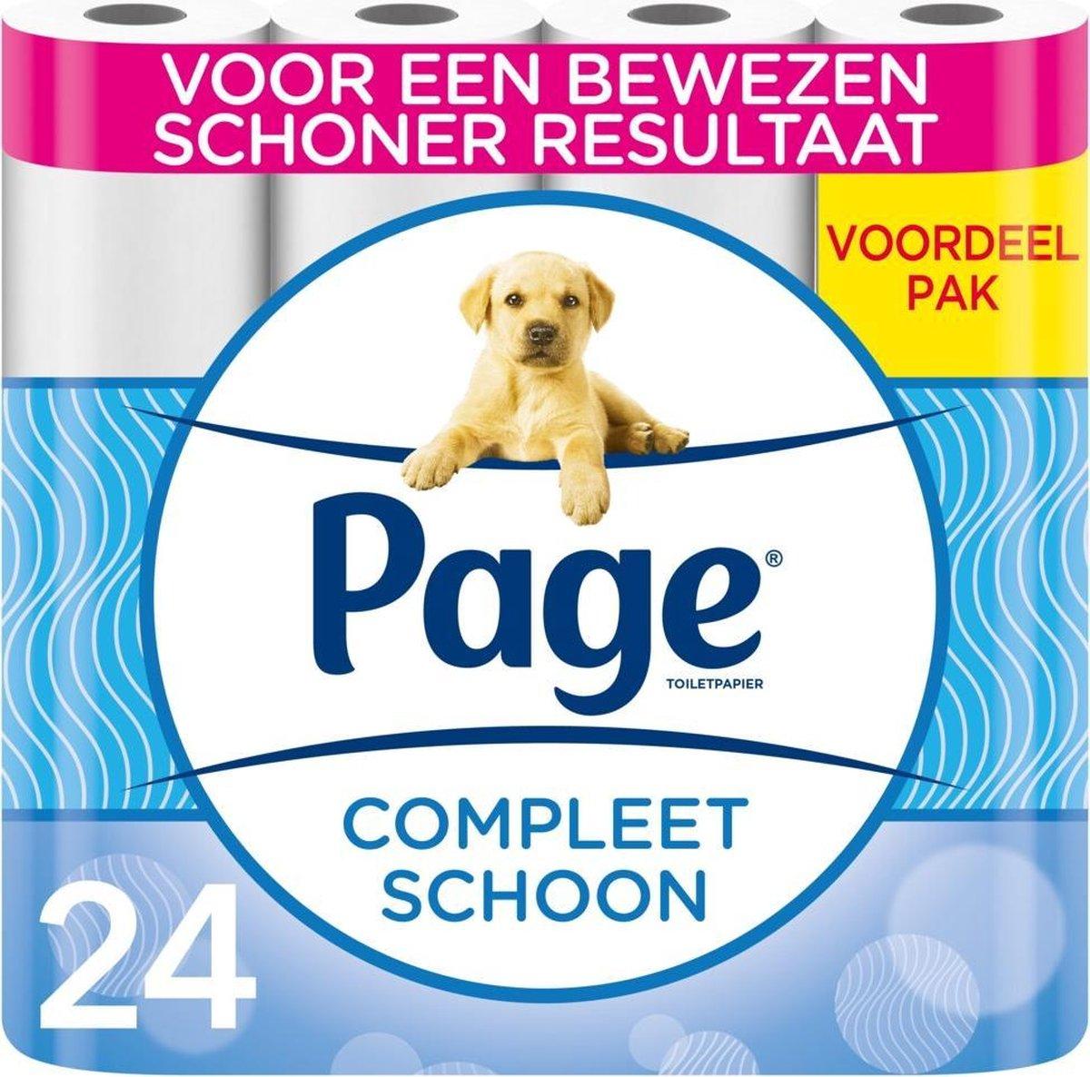 Page toiletpapier - Compleet schoon - 24 rollen