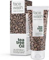 Australian Bodycare Face Wash 100ml - Eenvoudige gezichtsreinigingszeep, perfect tegen pukkels, jeugdpuistjes & mee–eters gebaseerd op Tea Tree Olie - Voor de verzorging van de acne-gevoelige huid