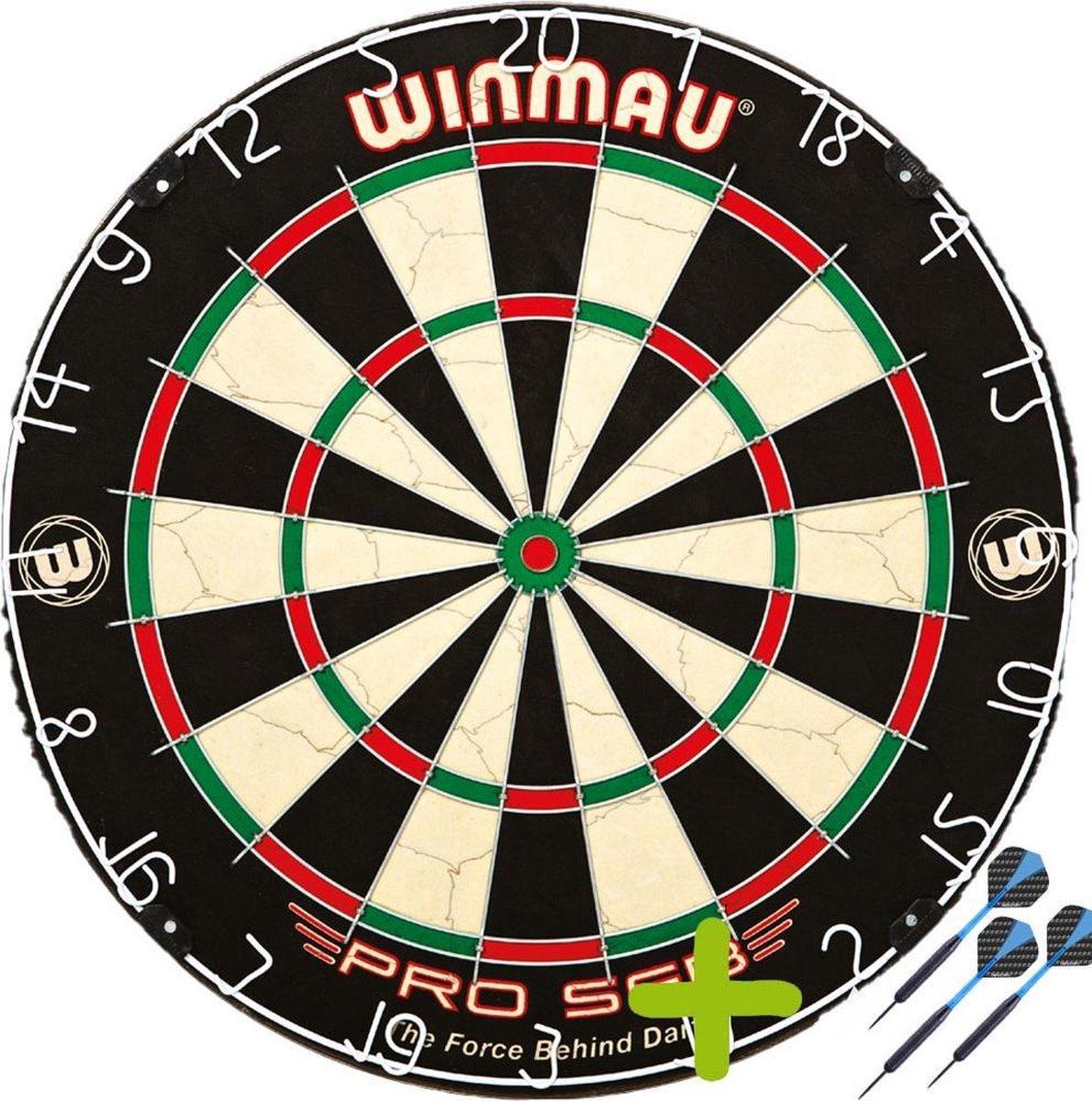 Winmau Pro SFB + 1 Set Black Brass