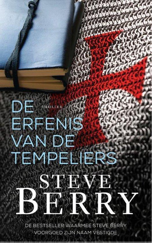 Boek cover Cotton Malone  -   De erfenis van de Tempeliers van Steve Berry (Paperback)