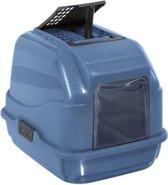 Imac kattenbak easy cat 2nd life blauw 50x40x40 cm