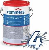 Remmers Induline GW-310 Zwarte Beits 2,5L UV Bestendig Gitzwart RAL9005