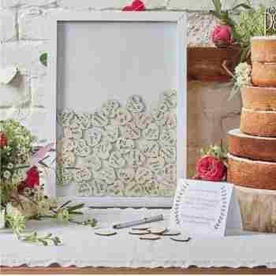 Hart Frame Alternatief Gastenboek Huwelijk Boho Ginger Ray
