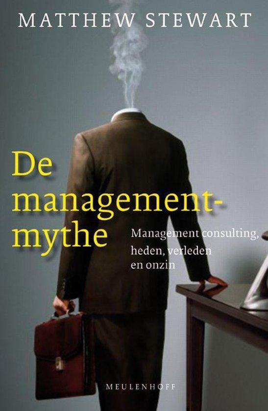 Cover van het boek 'De managementmythe' van M. Stewart