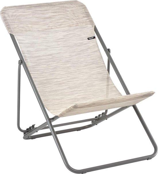 Lafuma Maxi Transat Velio Neo - Strandstoel opvouwbaar - Beige