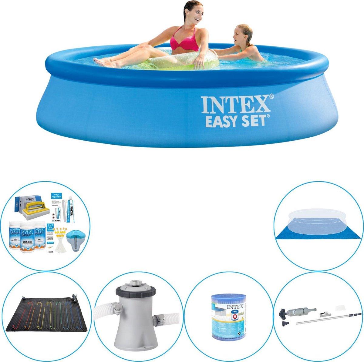 Intex Easy Set Rond 244x61 cm - 7-delig - Zwembad Deal