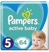 Pampers Active Baby Maat 5 - 64 Luiers