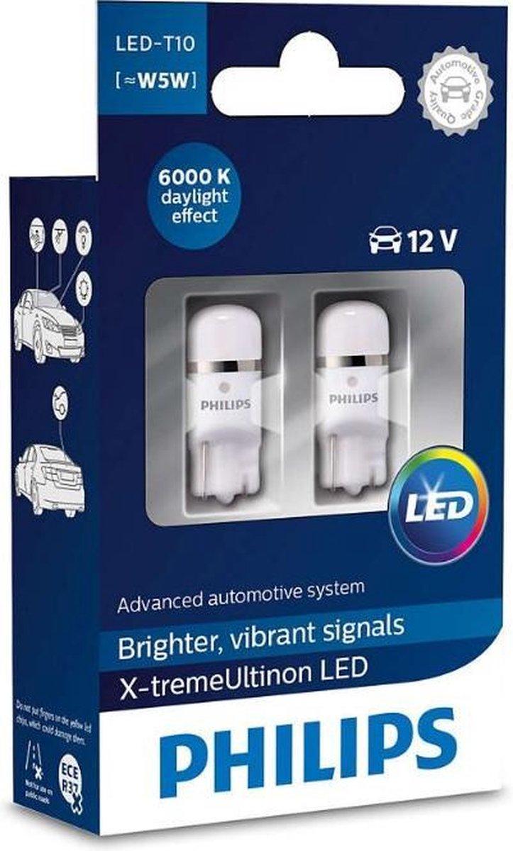 Philips X-TremeUltinon LED W5W-T10 - Voertuigverlichting