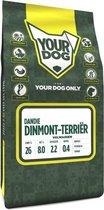 Volwassen 3 kg Yourdog dandie dinmont terriËr hondenvoer