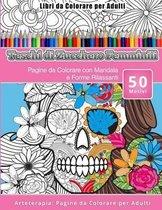 Libri Da Colorare Per Adulti Teschi Di Zucchero Femminili