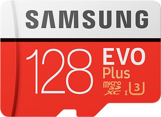 Samsung Evo Plus MicroSDXC 128GB - met adapter
