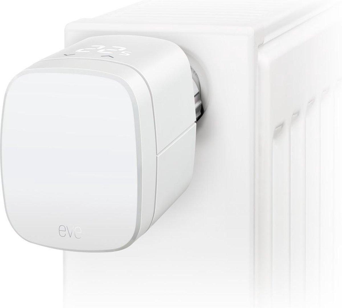 Eve Thermo - Slimme Radiatorkraan - Werkt met Apple Homekit