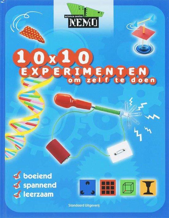 Cover van het boek '10x 10 experimenten om zelf te doen' van K. Knighton en Gini Andrews