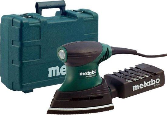 Metabo Multischuurmachine FMS 200 Intec - 200 Watt - Schuuroppervlak 100 x 147 mm