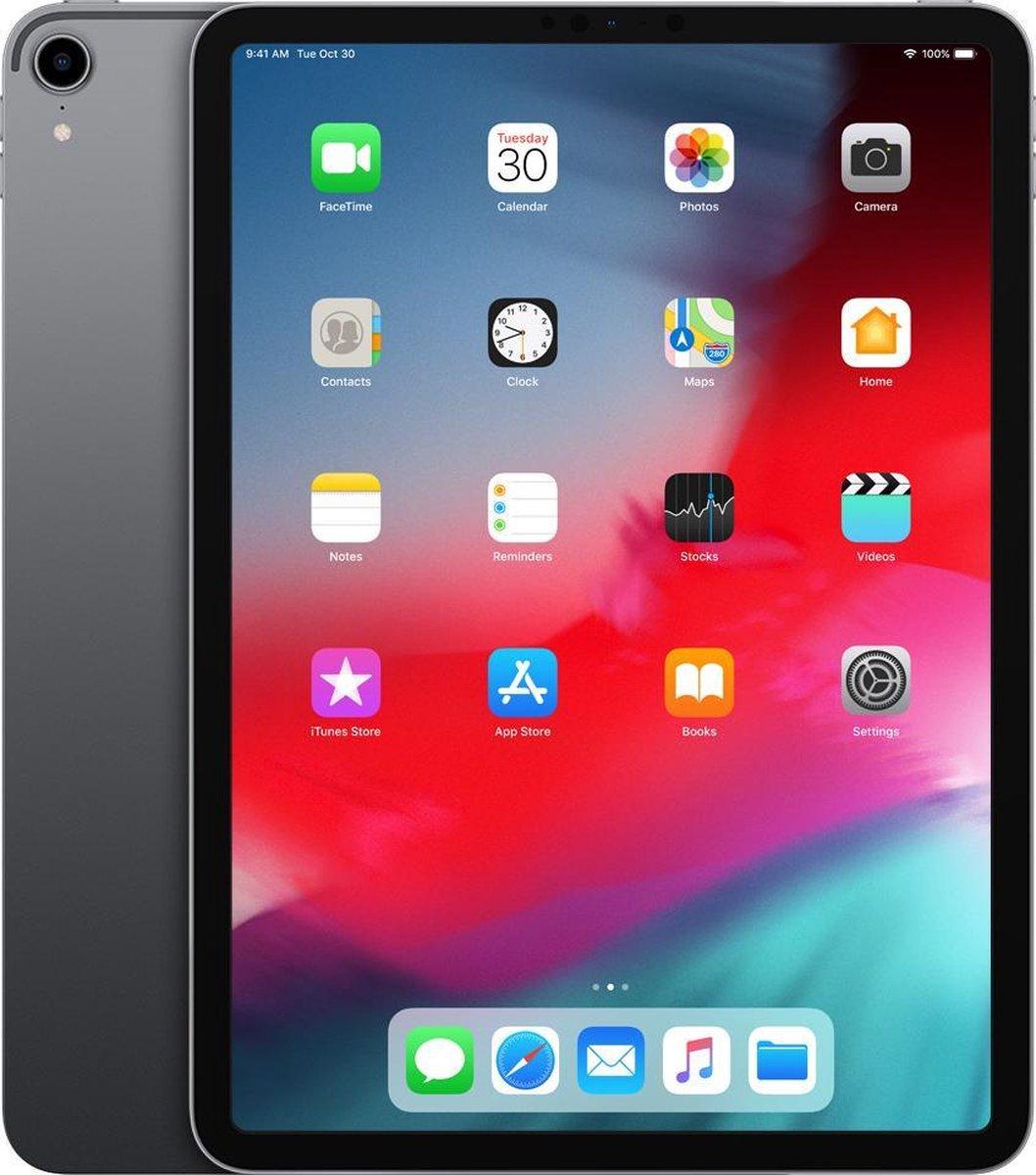 Apple iPad Pro 11 2018   – 11 inch – WiFi – 64 GB – Zilver – B Grade (lichte gebruikssporen)