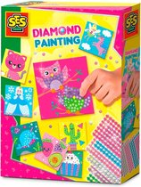 SES Diamond painting - Hobbypakket - Knutselen voor kinderen