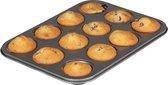 Sareva Muffinvorm 12 Muffins - Grijs