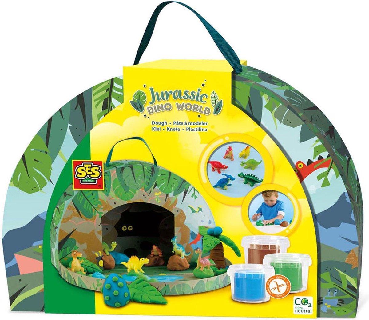 Jurassic dino wereld - Speelkoffer