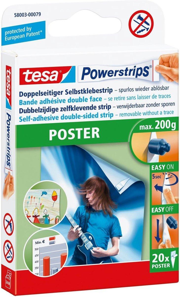TESA POWERSTRIPS POSTER 20 stuks - Tesa