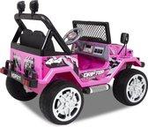 Jeep Elektrische kinderauto - 12 Volt - Accu Auto - Sterke Accu - Afstandbediening - Roze