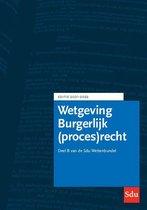Omslag Educatieve wettenverzameling  -  Sdu Wettenbundel Burgerlijk (proces)recht 2021-2022