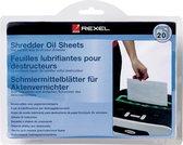 Rexel Olievellen voor Papierversnipperaars - 20 Stuks