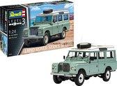 Revell Modelbouwset Land Rover S-iii 1:24 Groen 184-delig