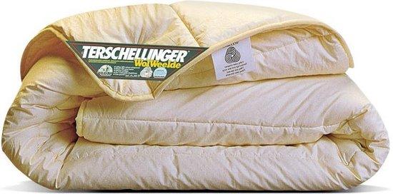 Terschellinger | Winter wollen dekbed | 100% IWS Zuiver Scheerwollen Enkel Dekbed|240x220cm (Extra Lang)