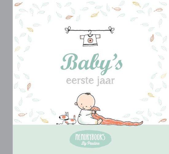 Boek cover Memorybooks by Pauline  -   Babys eerste jaar van Pauline Oud (Hardcover)