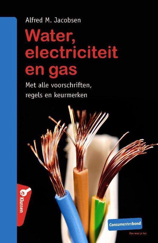 Cover van het boek 'Water, elektriciteit & gas'