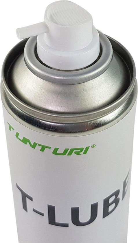 Tunturi loopband smeermiddel - loopband olie - incl. spraybuis - 200ml - Wit