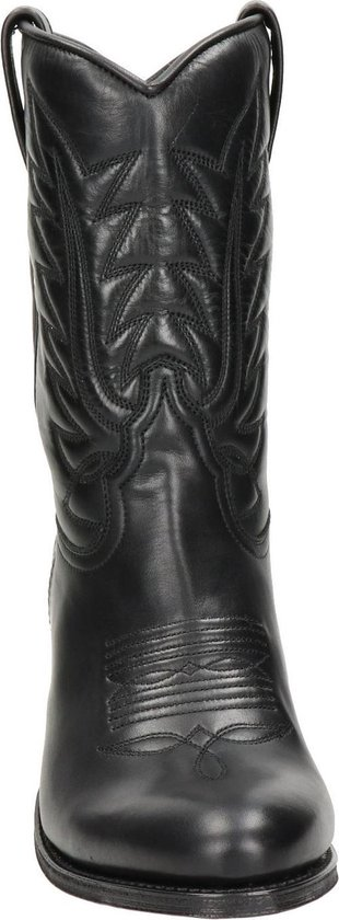 Sendra 13142 Laly cowboylaars Zwart Maat 38